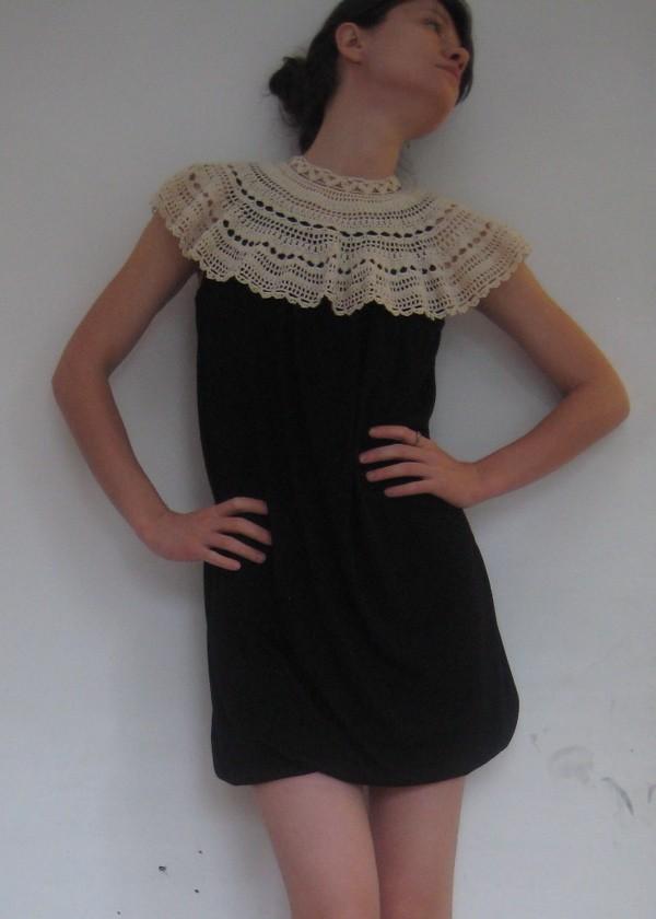 Mini Bubble Dress, handmade by Anais of Brooklyn