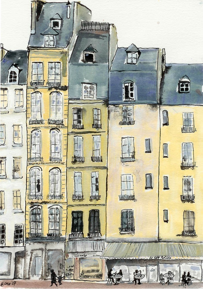 By artist Nina Clough, A Bit Of Paris