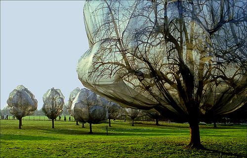 Christojeanneclaude, switzerland park, 1998