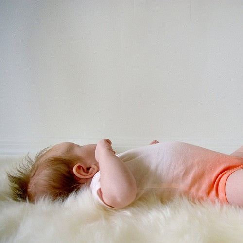 Peach ombre onesie by deerdane