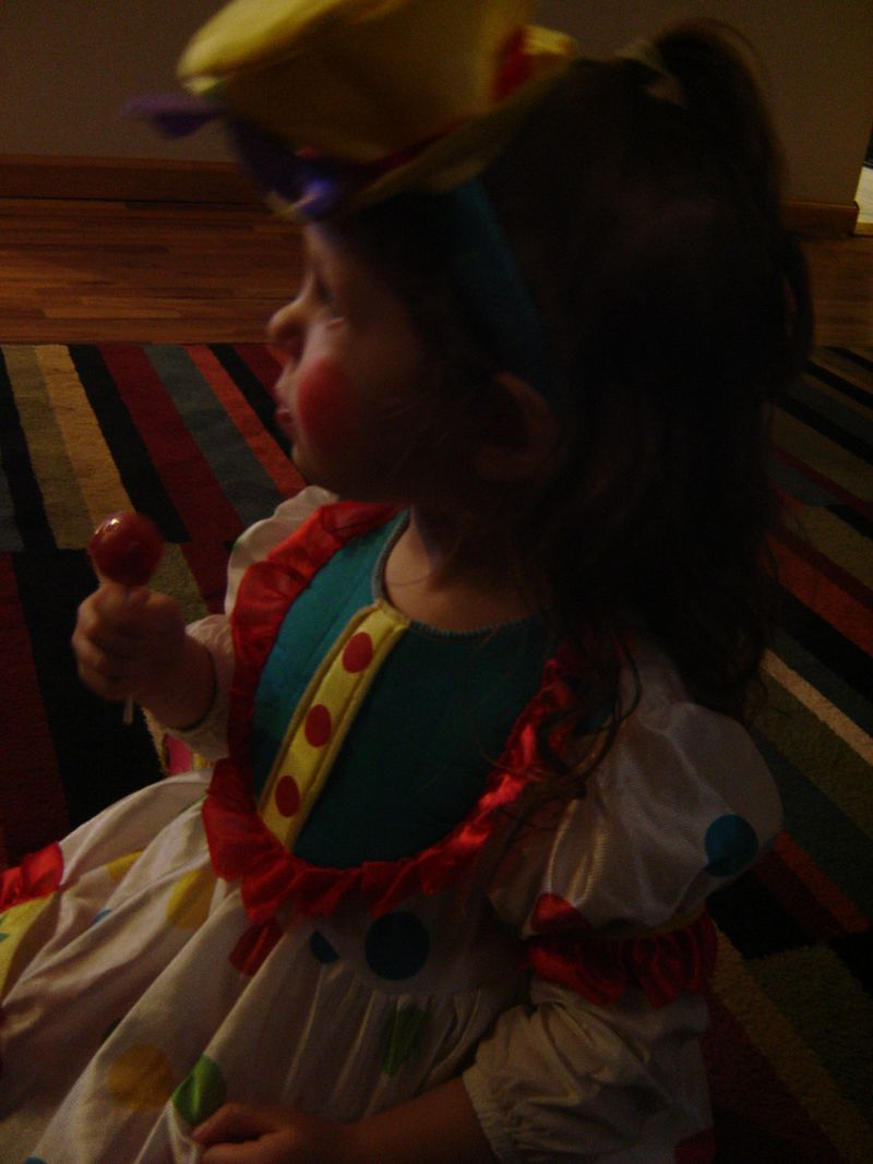 The baby on halloween (2)